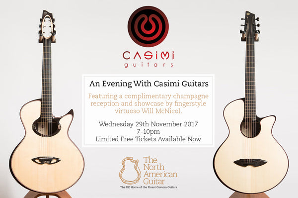 An Evening With Casimi Guitars