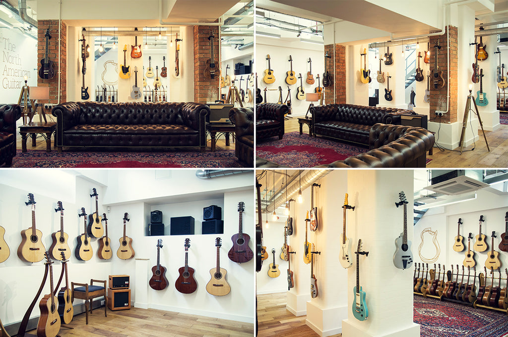 The North American Guitar Showroom