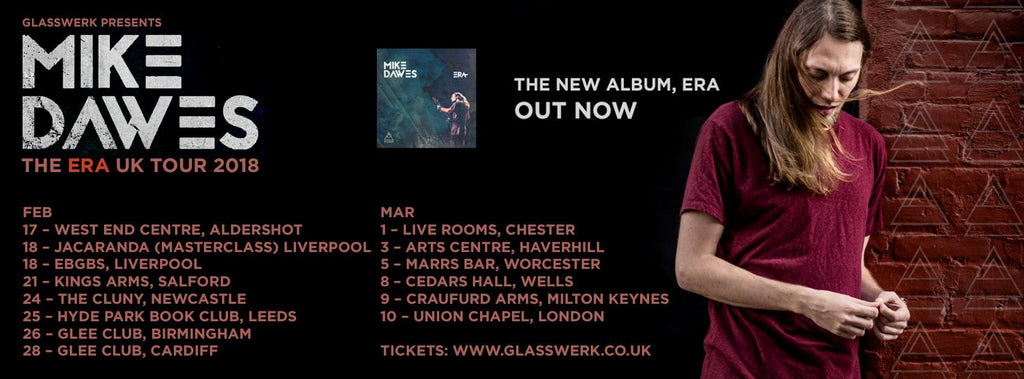 Mike Dawes UK Tour 2018
