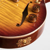 B&G Little Sister Private Build Electric Guitar - Non-Cutaway, Tobacco Burst, Humbuckers #681