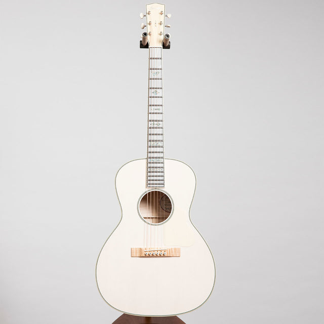 Bourgeois L-DBO Acoustic Guitar, Transparent White