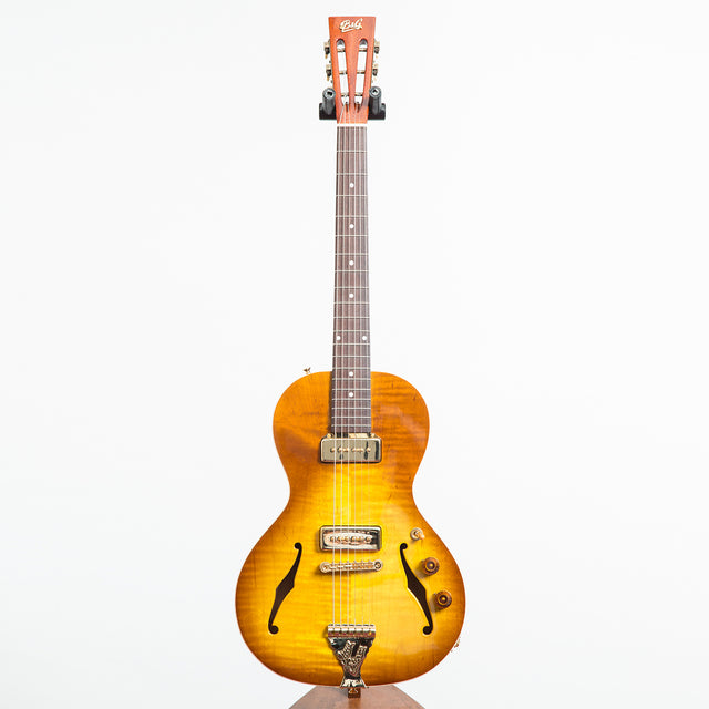B&G Guitars Little Sister Private Build Electric Guitar #476 - P90s, Non Cutaway, Honey Burst