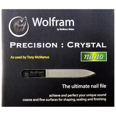 Wolfram Precision Crystal Nano Glass Nail File