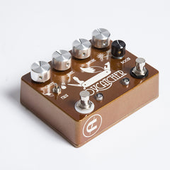 CopperSound Foxcatcher Overdrive & Boost Guitar Effects Pedal