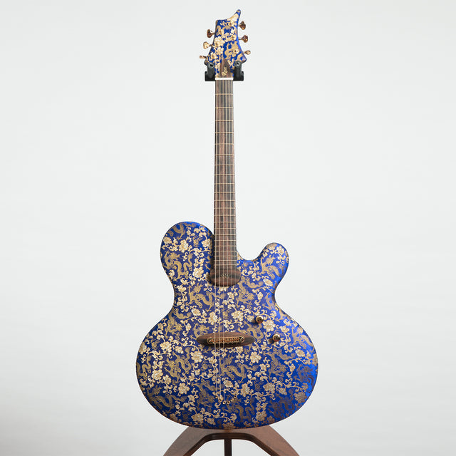 Ritter Instruments Princess Isabella Electric Guitar, 'The Blue Dragon'
