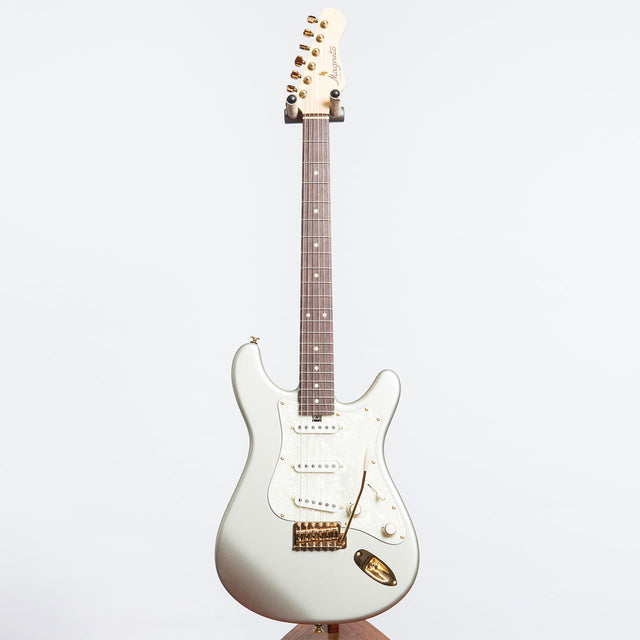 MAGNETO GUITARS SONNET RAW DAWG SILVER ALDER / MAPLE