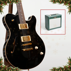 Advent Calendar Day 3: Nik Huber Rietbergen Standard, Onyx Black High Gloss Finish + Free Cornell Plexi 7 Amp