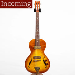 B&G Guitars Little Sister Private Build Electric Guitar, P90s, Non Cutaway, Honey Burst