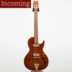 B&G Little Sister Private Build Electric Guitar, Cutaway, All-Mahogany, P90s