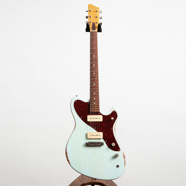Bunting Spiro Electric Guitar, Summer Sky Blue