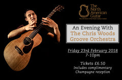 An Evening With The Chris Woods Groove Orchestra - Friday 23rd February 2018