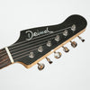 Deimel Guitarworks Firestar Custom Electric Guitar, High Gloss Black