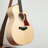TAYLOR 214CE-FM DLX ELECTRO ACOUSTIC GUITAR - SITKA SPRUCE / FIGURED MAPLE