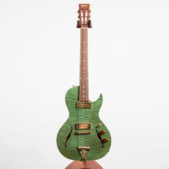 B&G Guitars Little Sister Private Build Electric Guitar #767, Poison Ivy, Kikbuckers, Cutaway
