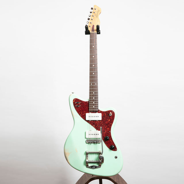 Bunting Melody Queen Electric Guitar, Hipster Green