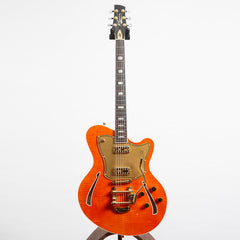 Kauer Guitars Super Chief Electric Guitar, Round Up Orange