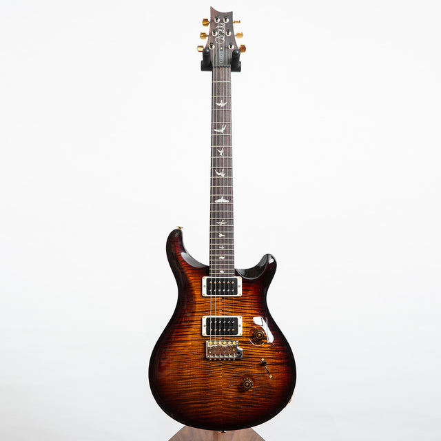 PRS Custom 24 10 Top Electric Guitar, Black Gold Burst - Pre-Owned
