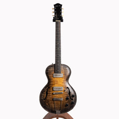 Wide Sky P125 Electric Guitar, Hand Rubbed Tobacco Burst