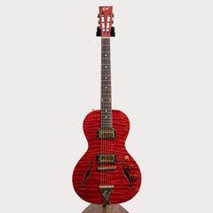 B&G Guitars Little Sister Private Build Electric Guitar - Humbuckers, Non Cutaway, Queen of Hearts - Pre-Owned
