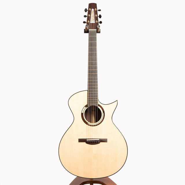 Michaud Made OM-R Acoustic Guitar, Madagascar Rosewood & German Spruce - Pre-Owned