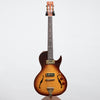 B&G Guitars Little Sister Crossroads Cutaway Electric Guitar, Tobacco Burst #108