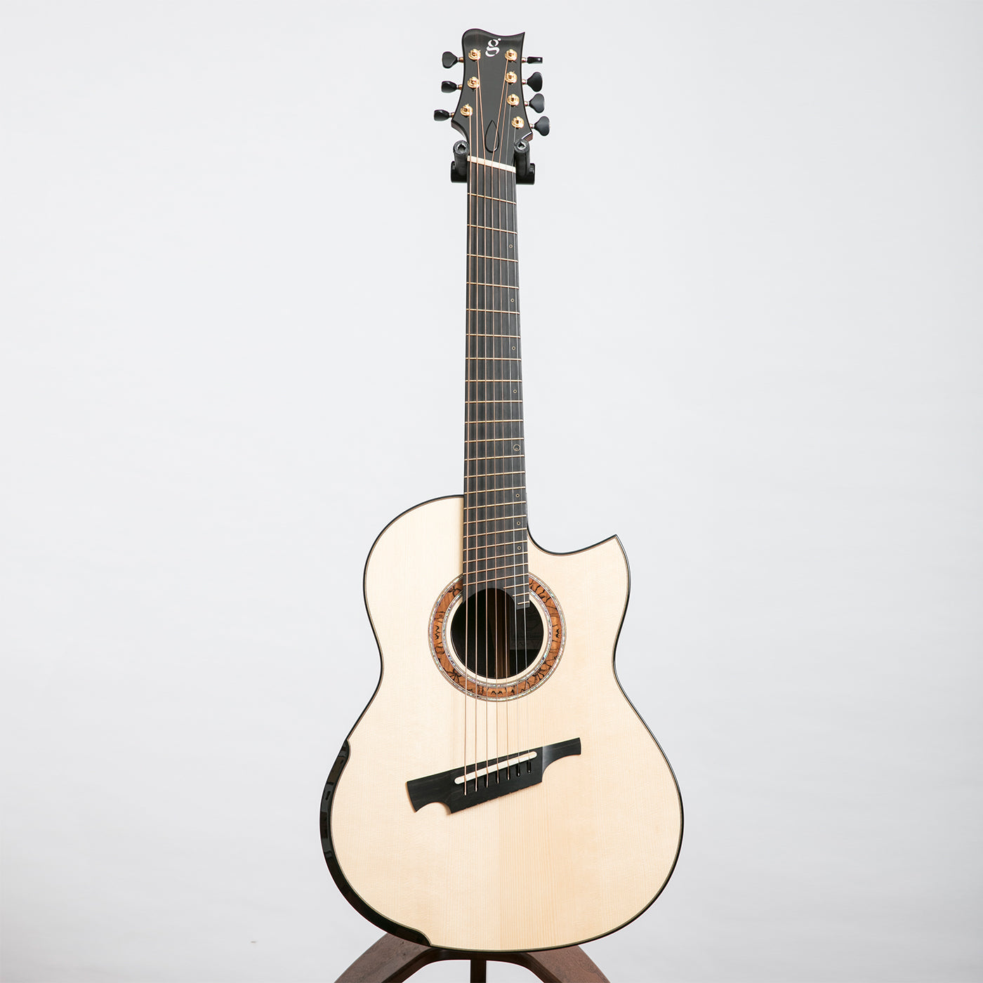 greenfield g1 2 7 string acoustic guitar ziricote adirondack spruce the north american guitar. Black Bedroom Furniture Sets. Home Design Ideas