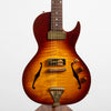 B&G Little Sister Private Build Matte Finish Electric Guitar, Tobacco Burst Cutaway, P90s #887