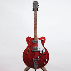 Gretsch 7660 Chet Atkins Nashville Model Electric Guitar, 1976, Cherry - Pre-Owned