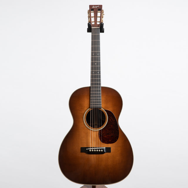 Bourgeois OMS Vintage Deluxe AT Acoustic Guitar, Madigascar Rosewood & Torrefied Adirondack Spruce