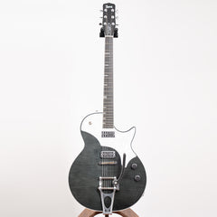 TV Jones Spectra Sonic Supreme Electric Guitar, Charcoal Black #222