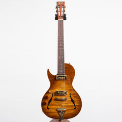 B&G Guitars Little Sister Crossroads Cutaway Electric Guitar #036 Honey Burst - Left Handed