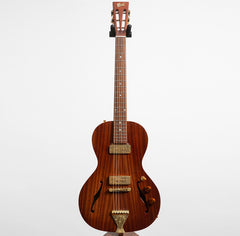 B&G Little Sister Private Build Electric Guitar, Non-Cutaway, All-Mahogany, P90s #885