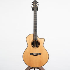 "David Eichelbaum ""Super"" Grand Concert Cutaway Indian rosewood Manzer Wedge Electro Acoustic Guitar - Pre-Owned"