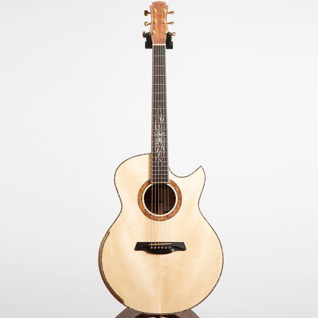 Maestro Private Collection Raffles AB CSB SX Acoustic Guitar, Australian Blackwood & Swiss Spruce