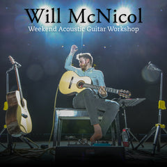 Weekend Acoustic Guitar Workshop With Will McNicol - 22nd & 23rd September 2018