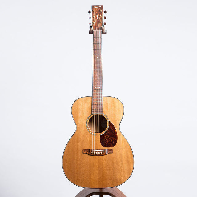 Bourgeois Limited Edition 40th Anniversary OM Aged Tone Adirondack Spruce & Reserve Quilted Mahogany