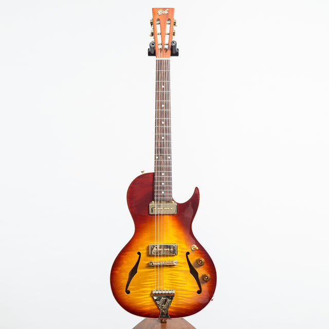 B&G Guitars Little Sister Private Build Electric Guitar #567 - Cherry Burst, Cutaway, P-90s
