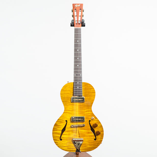 B&G Guitars Little Sister Private Build Electric Guitar #573 - P90s, Non Cutaway, Lemon Burst