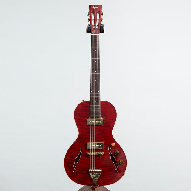 B&G Guitars Little Sister Private Build Electric Guitar #571 - P90s, Non Cutaway, Queen of Hearts