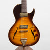 B&G Guitars Little Sister Crossroads Cutaway Electric Guitar, Tobacco Burst #087