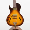 B&G Guitars Little Sister Crossroads Cutaway Electric Guitar, Tobacco Burst - Left Handed #359