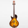 B&G Guitars Little Sister Crossroads Cutaway Electric Guitar, Tobacco Burst - Left Handed #063