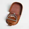 Elliott Capo Handmade Leather Pouch - Brown