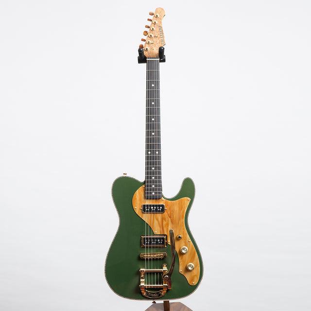Red Rocket Atomic Electric Guitar, Caddy Green