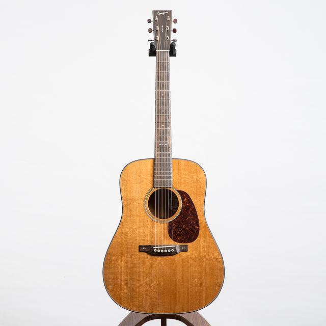 Bourgeois D Custom, Acoustic Guitar, Aged Tone Adirondack Spruce & Premium Quilted Mahogany - Pre-Owned