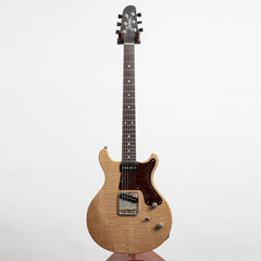 Deimel Guitarworks Doublestar RawTone 20th Anniversary Edition Electric Guitar, Semi-Trans Matt Gold