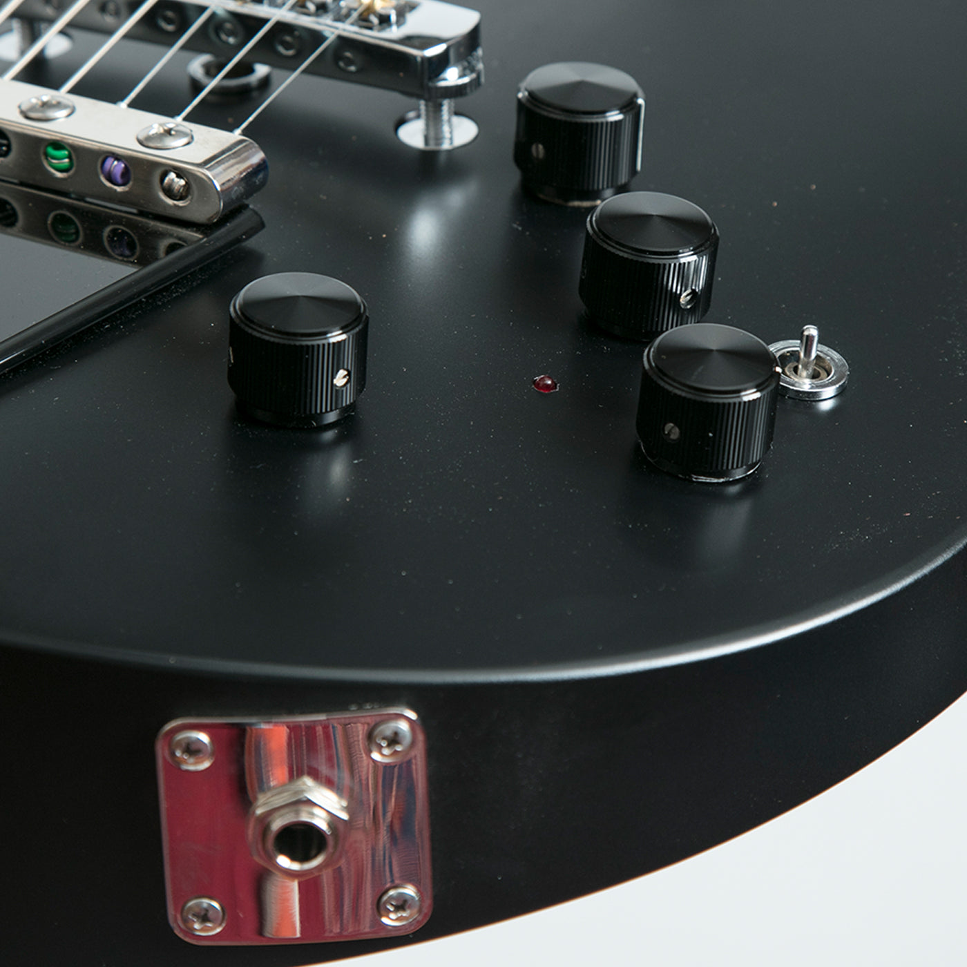 ... Rick Turner Model 1 Special C Electric Guitar, All Black Satin Limited  Edition - Ex ...