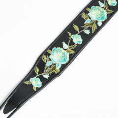 Jodi Head Guitar Wear - Stella Blue Guitar Strap