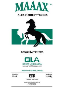 MAAAX Alfalfa-Timothy Forage Cubes (US ONLY)
