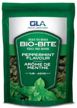 USA - Bio-Bites Horse Treats - Peppermint - Great Lakes Agra - Equine Choice